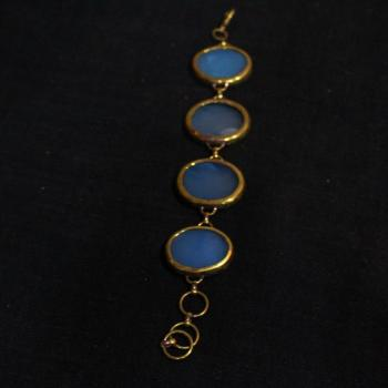 Blue Calci Bracelet